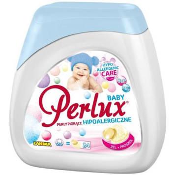 PERLUX BABY Kapsułki piorące hipoalergiczne do białego i koloru 24 szt. 1szt