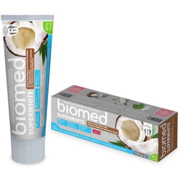 BIOMED Superwhite Pasta do zębów wybielająca i wzmacnijąca wrażliwe szkliwo 100ml