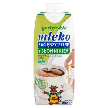 Mleko zagęszczone niesłodzone Light 4% SM Gostyń - idealna, bogata w błonnik baza domowych wypieków.