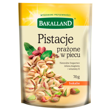 Orzechy pistacjowe Bakalland