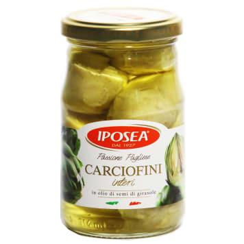 Karczochy w oleju słonecznikowym-Iposea to cenne źródło witamin i właściwości odżywczych.