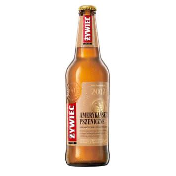 ŻYWIEC Piwo Amerykańskie Pszeniczne (cena zawiera 0,50zł kaucji za but) 500g