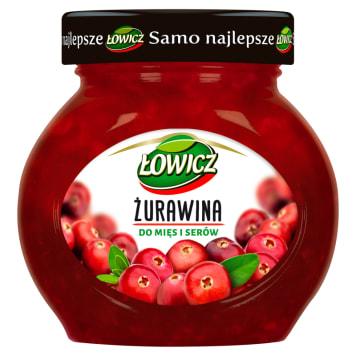Łowicz - Żurawina do mięs i serów. Naturalny smak i aromat.