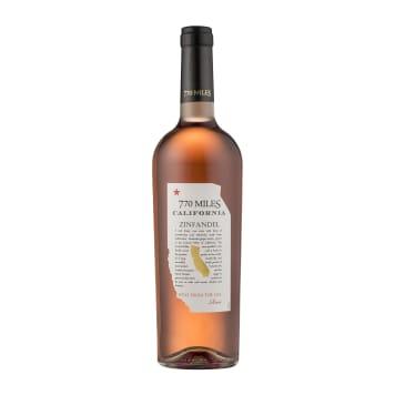 770 MILES Wino różowe, półsłodkie 750ml