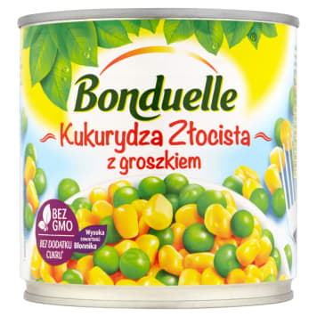 BONDUELLE Złocista kukurydza z groszkiem 340g