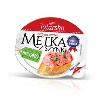 PRIME FOOD Metka wieprzowa z szynki - tatarska 80g
