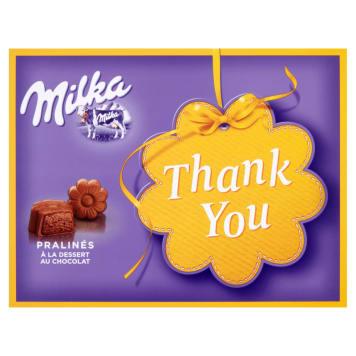 Milka - Czekoladki Thank You. Wyśmienite czekoladki na każdą okazję.