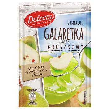 Delecta – Galaretka o smaku gruszkowym sprawdzi się jako dodatek do deserów i ciast.