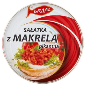GRAAL Sałatka z makrelą pikantna 300g