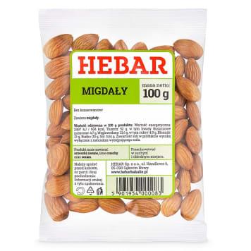 HEBAR Migdały 100g