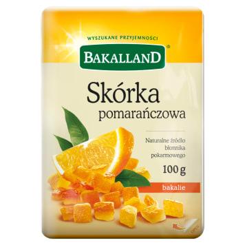 Skórka pomarańczowa 100g - Bakalland