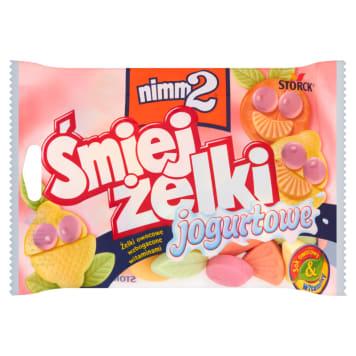 Śmiejżelki Żelki jogurtowe - Nimm2. Ulubiony przsmak dzieci.