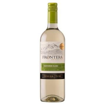 Białe wino wytrawne Sauvignon Blanc – Frontera. Orzeźwiający trunek o wyrazistym aromacie.