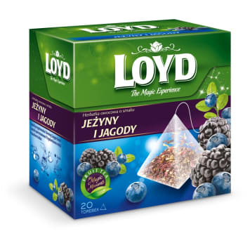 Loyd Tea - Herbata owocowa 20 torebek. Przepięknie pachnie i doskonale smakuje.