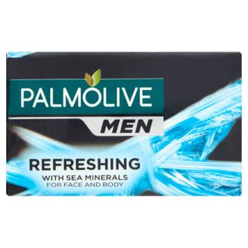 Palmolive - Mydło w kostce dla mężczyzn zapewnića długotrwałą świeżość. Z morskimi minerałami.