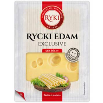 RYKI Exclusive Ser Rycki Edam w plastrach 135g