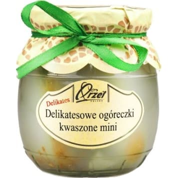 Delikatesowe ogóreczki kwaszone mini - Orzeł Polska posiadają różnorodne zastosowanie w kuchni.