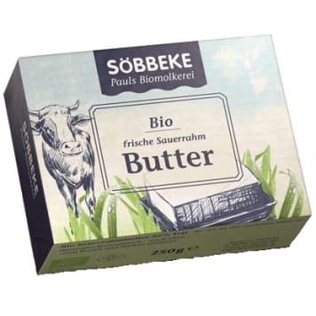 SOBBEKE Masło BIO 250g