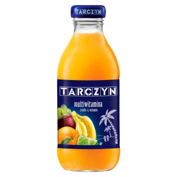 Napój multiwitamina-Tarczyn to pyszne źródło witamin i minerałów.