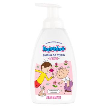 BAMBINO Pianka do mycia dziewczynka 500ml