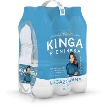 Woda mineralna - Kinga Pienińska. Doskonały, orzeźwiający smak.