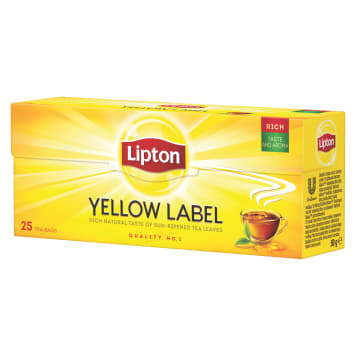 Herbata ekspresowa Yellow Label - Lipton