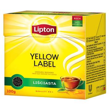 LIPTON Herbata liściasta 100g - głęboki, świeży aromat prawdziwej herbaty