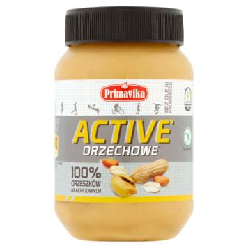 PRIMAVIKA ACTIVE Orzechowe 100% orzeszków arachidowych 470g