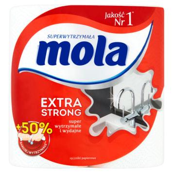 Ręczniki papierowe - Mola Extra Strong. To najmocniejsze ręczniki - do zadań specjalnych.
