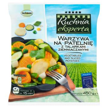 Mrożone warzywa na patelnię – Oerlemans z talarkami ziemniaczanymi szybko przygotujesz do podania.