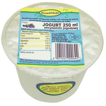 ZIEMBIŃSKI Jogurt secymiński jagodowy 250ml