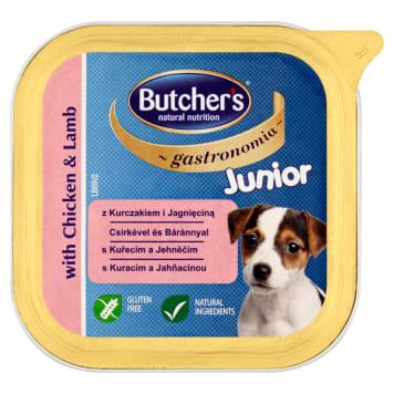 BUTCHER'S Gastronomia Karma dla psów juniorów z kurczakiem i jagnięciną 150g