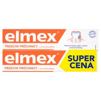 ELMEX Pasta do zębów Przeciw Próchnicy (2x75 ml) 150ml