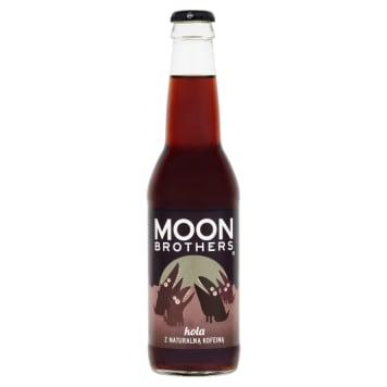 Lemoniada soczysta - Kola z kofeiną 330ml Moon Brothers. Lemoniada o smaku Koli z kofeiną.