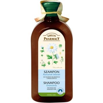 Szampon do włosów Rumianek - Green Pharmacy oczyszcza i wzmacnia włosy.