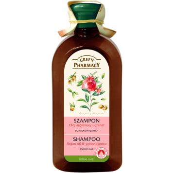 Szampon do włosów - Green Pharmacy przeznaczony jest do włosów przesuszonych.