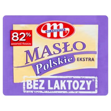 MLEKOVITA Bez laktozy Masło Polskie Extra bez laktozy 200g