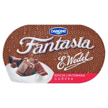 DANONE Fantasia Jogurt kremowy z czekoladą gorzką 104g