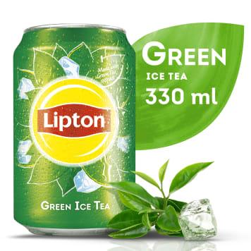 Herbata mrożona Green Tea puszka 330 ml - Lipton Ice Tea - Twoja mrożona herbata