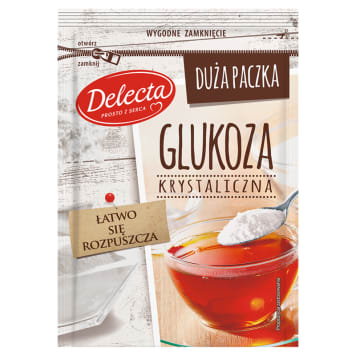 DELECTA Glukoza krystaliczna 100g