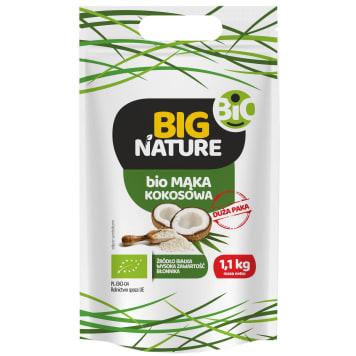 BIG NATURE Mąka kokosowa BIO 1.1kg