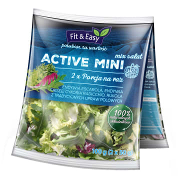 FIT&EASY Active Duopack 2x50g 100g