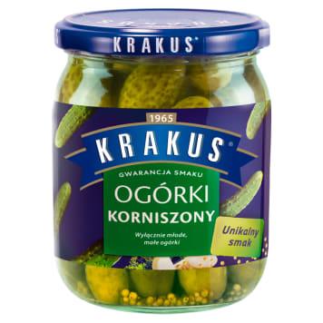 KRAKUS Ogórki korniszony 500g