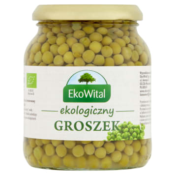 Groszek konserwowy BIO – Eko wital to ekologiczne warzywo o doskonałym smaku.