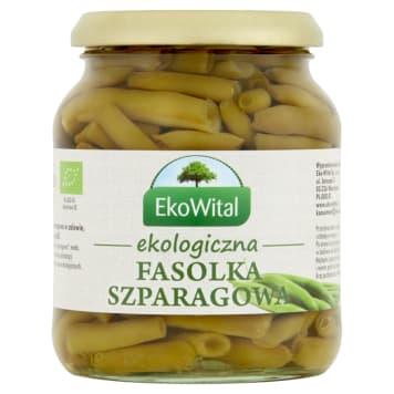 Fasola szparagowa Bio - Eko Wital. Doskonała w smaku i pełna wartości odżywczych fasolka szparagowa.