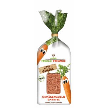 ERDBAR Makaron warzywny z marchwią BIO 100g