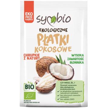 SYMBIO Płatki kokosowe EKO 30g
