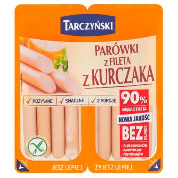 Parówki z fileta kurczaka bez osłonek - Tarczyński