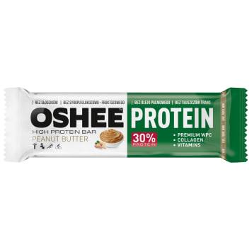 OSHEE Protein Baton wysokobiałkowy masło orzechowe 45g