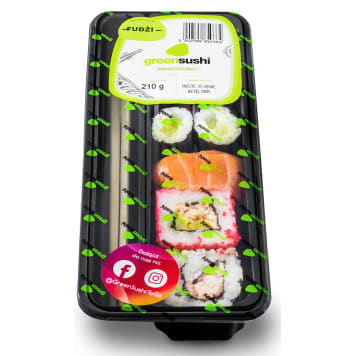 GREEN SUSHI Zestaw sushi Fudżi 210g